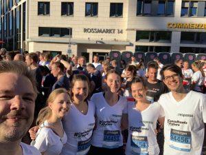 Teamlauf in Frankfurt 2019